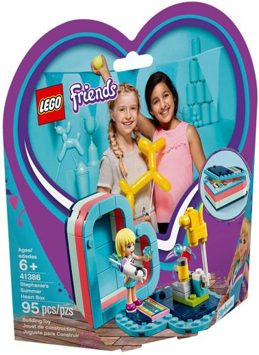 Lego Lego Friends Stephanie'nin Yaz Kalp Kutusu 41386 Renkli